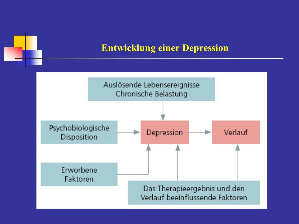 Depression, eine rezidivierende Erkrankung Kendler et al.