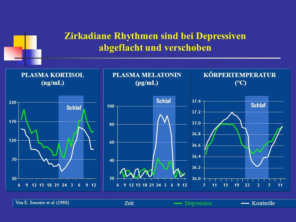 Neuroanales Netzwerkmodell der Depression Phillips et al. (2008)