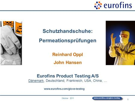 Permeationsprüfungen Eurofins Product Testing A/S