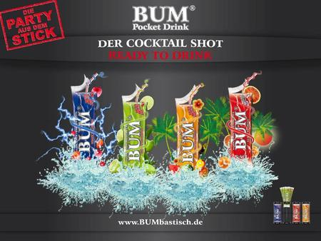 BUM Pocket Drink ist: Der kultige Lifestyle-Drink