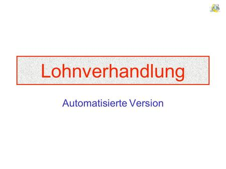 Automatisierte Version