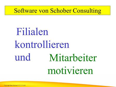 Software von Schober Consulting