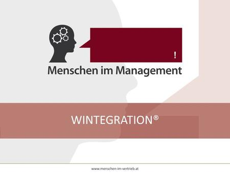 WINTEGRATION®.
