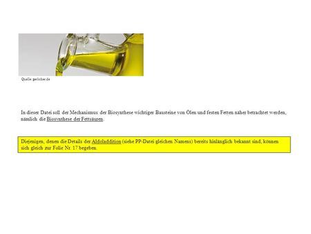 Beispiele für Hydroxysäuren: Glycerinsäure 2,3-Dihydroxypropan ...: slideplayer.org/slide/206860