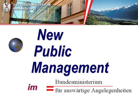 New Public Management im New Public Management im.