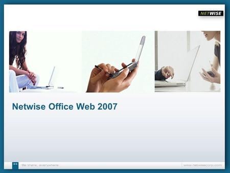 Netwise Office Web 2007.