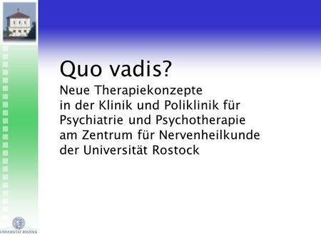 analytische psychotherapie rostock