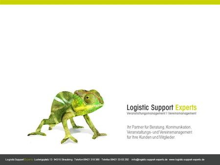 Logistic Support Experts · Ludwigsplatz 13 · 94315 Straubing · Telefon 09421 310 380 · Telefax 09421 33 03 292 · ·