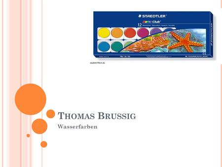 Thomas Brussig Wasserfarben.