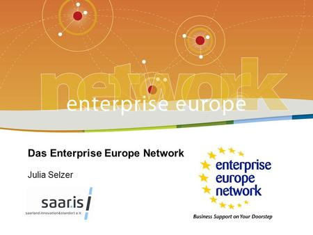 Enterprise Europe Network | ZPT Saarland - Programm 2013