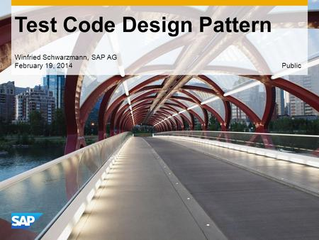 Test Code Design Pattern