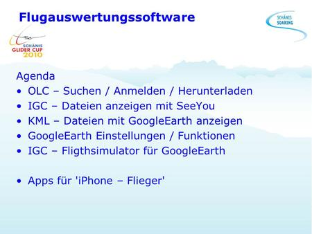 Flugauswertungssoftware