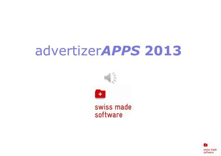 AdvertizerAPPS 2013. advertizerAPPS 2013 Windows 8 ready!