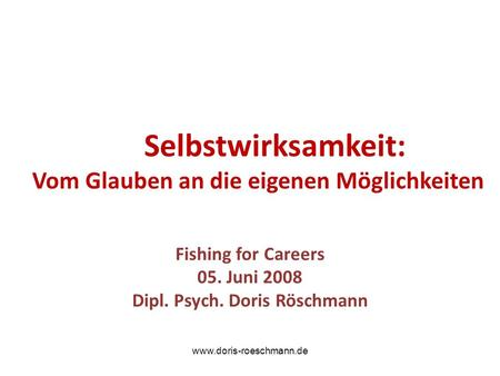Doris Röschmann Coaching & Consulting