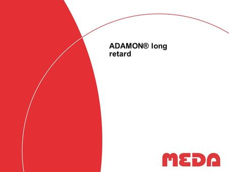 ADAMON® long retard.