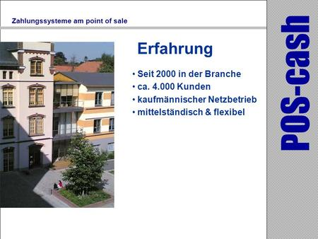 Zahlungssysteme am point of sale