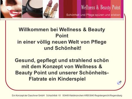 Willkommen bei Wellness & Beauty Point