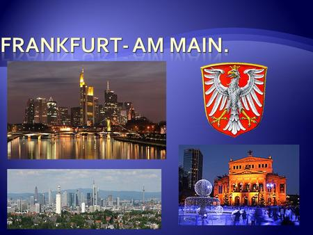 Frankfurt- am Main..