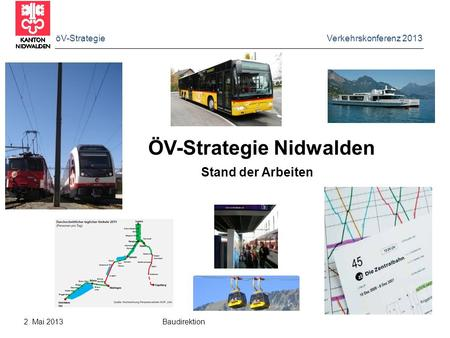 ÖV-Strategie Nidwalden