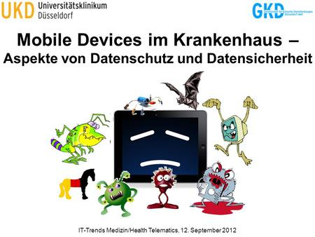 IT-Trends Medizin/Health Telematics, 12. September 2012