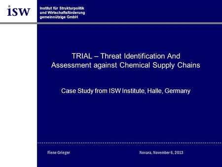 TRIAL – Threat Identification And