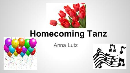 Homecoming Tanz Anna Lutz.