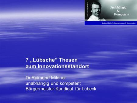 zum Innovationsstandort