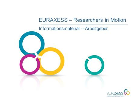 EURAXESS – Researchers in Motion Informationsmaterial – Arbeitgeber.