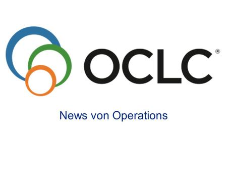News von Operations.