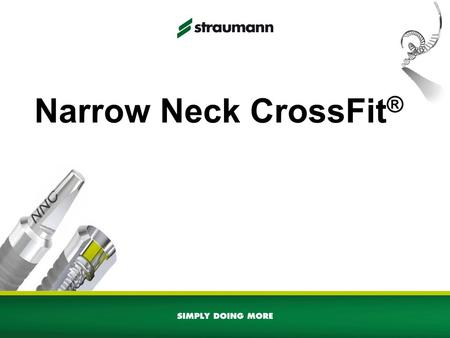 Narrow Neck CrossFit®.