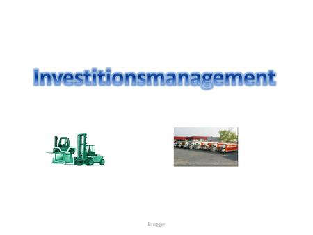Investitionsmanagement
