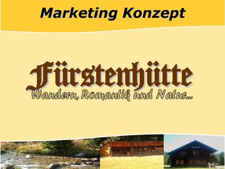 Marketing Konzept.