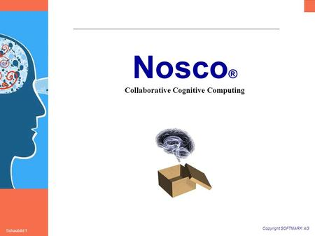 Copyright SOFTMARK AG Schaubild 1 Nosco ® Collaborative Cognitive Computing.
