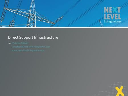 Direct Support Infrastructure Christian Mülder