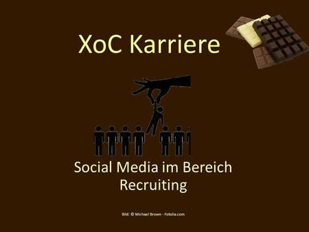 XoC Karriere Social Media im Bereich Recruiting Bild: © Michael Brown - Fotolia.com.