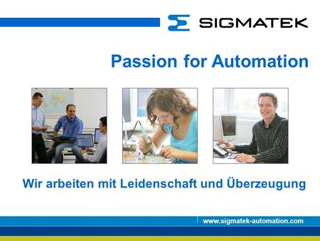 Passion for Automation