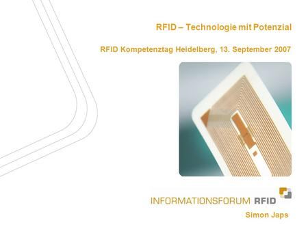 Das Informationsforum RFID e.V.