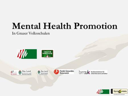 Mental Health Promotion
