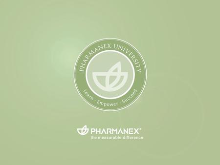 Pharmanex University EXITENTER. g c superfruit blend with lipocarotenes tm G3.