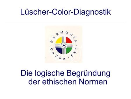 Lüscher-Color-Diagnostik