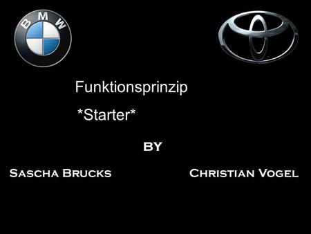 Funktionsprinzip *Starter* by Sascha Brucks Christian Vogel.