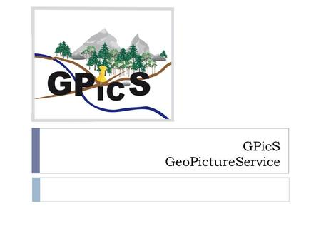 GPicS GeoPictureService. Gliederung 1. Systemarchitektur 1. Model 2. SSDs 2. eXist 1. Allgemeines 2. One BIG vs. Many small.