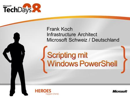 Scripting mit Windows PowerShell