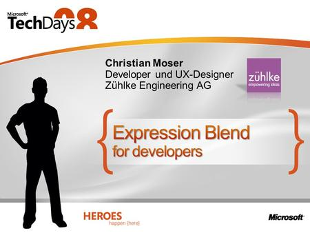 Christian Moser Developer und UX-Designer Zühlke Engineering AG.