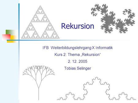 fibonacci informatik: