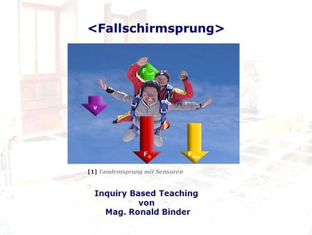 [1] Tandemsprung mit Sensoren Inquiry Based Teaching von Mag. Ronald Binder.
