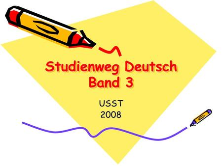 Studienweg Deutsch Band 3
