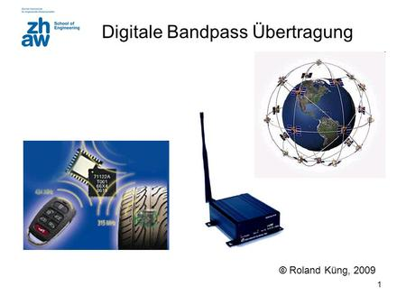 Digitale Bandpass Übertragung