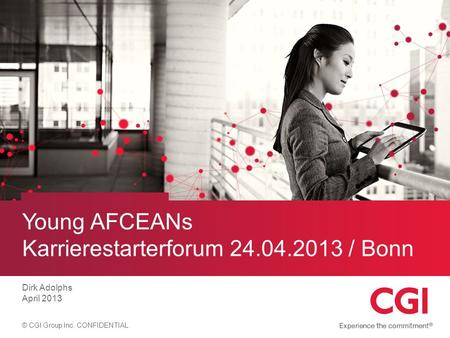 Young AFCEANs Karrierestarterforum / Bonn