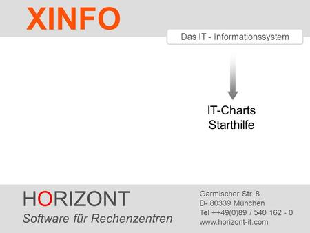 Das IT - Informationssystem